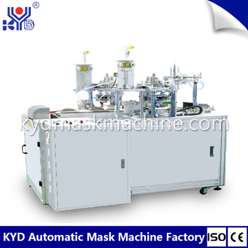 Folding Mask Type Type Ear-loop Welding Making Machine